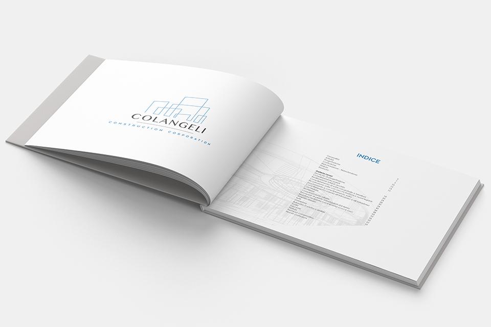 Dogma23 L'Aquila Creazione Brochure Aziendali - Brochure colangeli costruzioni