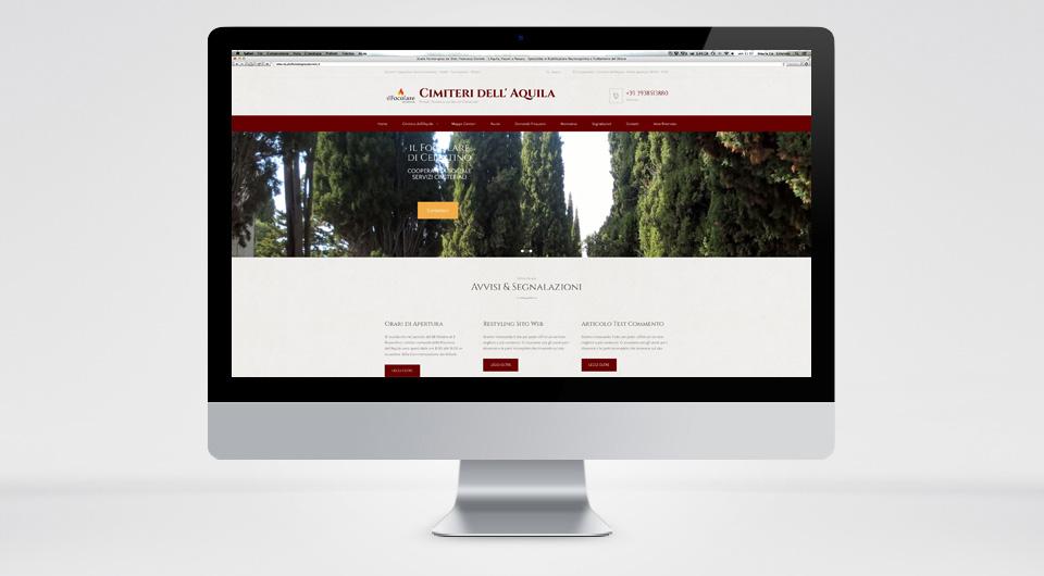 Siti Web L'Aquila - www.cimiterilaquila.it