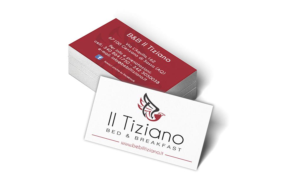 Il Tiziano - Biglietti da Visita