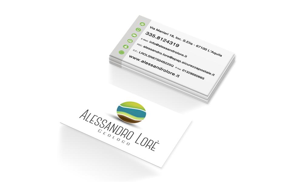 Alessandro Loré - Biglietti da Visita