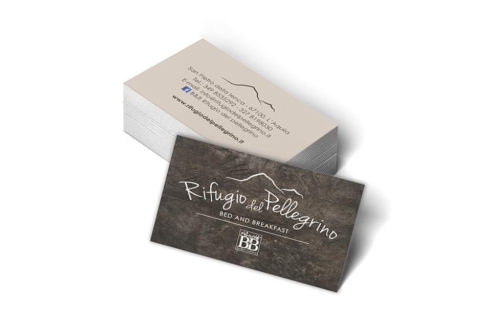 Rifugio del Pellegrino - Biglietti da Visita