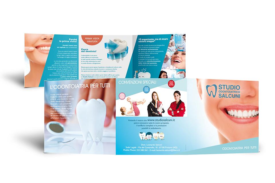 Studio Odontoiatrico Salcuni - Pieghevole
