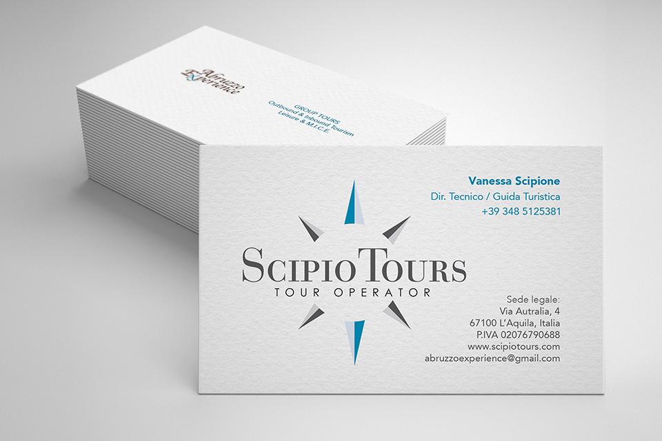 Scipio Tours - Biglietti da Visita