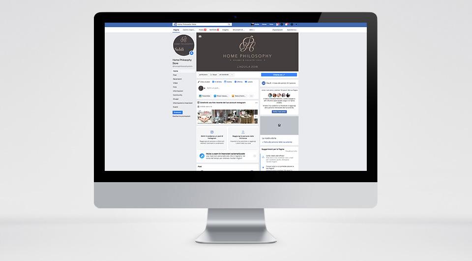 Gestione Account Facebook Web Marketing e Gestione Account Social