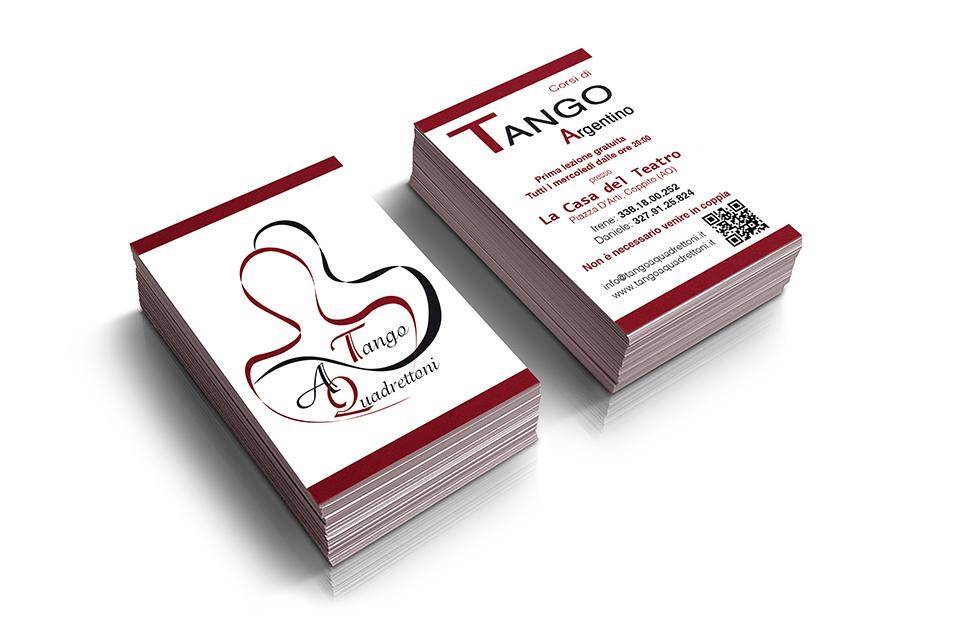 Scuola Tango - Biglietti da Visita