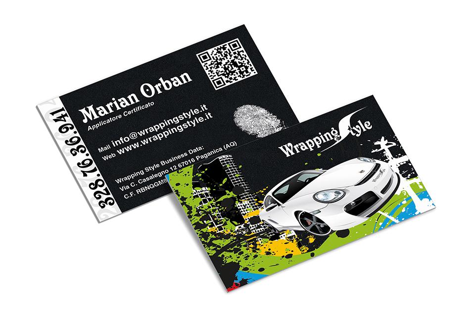 Wrapping Style - Biglietti da Visita