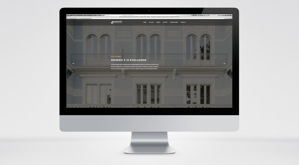 Sito Web Aziendale - DIGIMASTRI www.digimastricostruzioni.it
