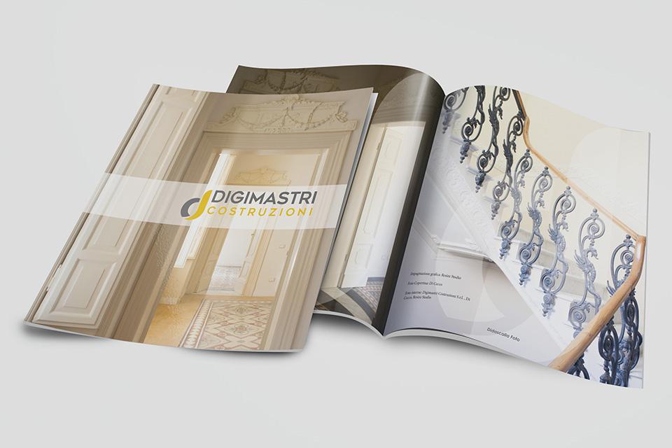 Rivista e Brochure Aziendale - Digimastri Costruzioni L'Aquila