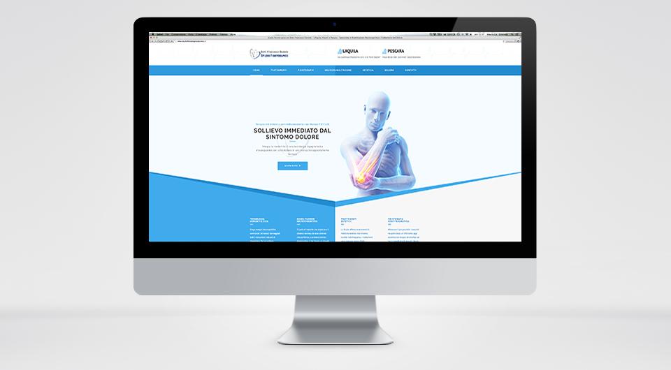 creazione siti internet www.studiofisioterapicodaniele.it