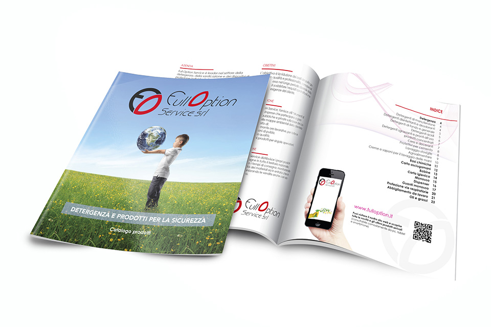 Brochure e Grafica Editoriale - Full Option Services