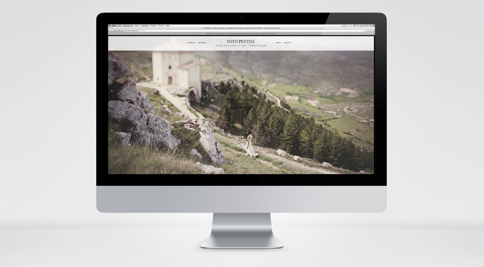 Creazione Siti Web L'Aquila www.fotopettine.it