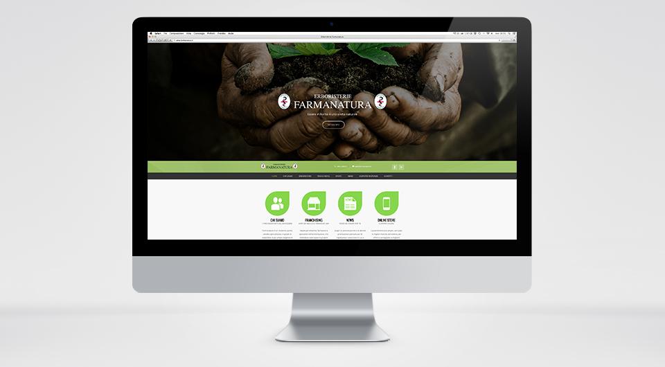 Realizzazione Siti Web a L'Aquila http://www.farmanatura.it