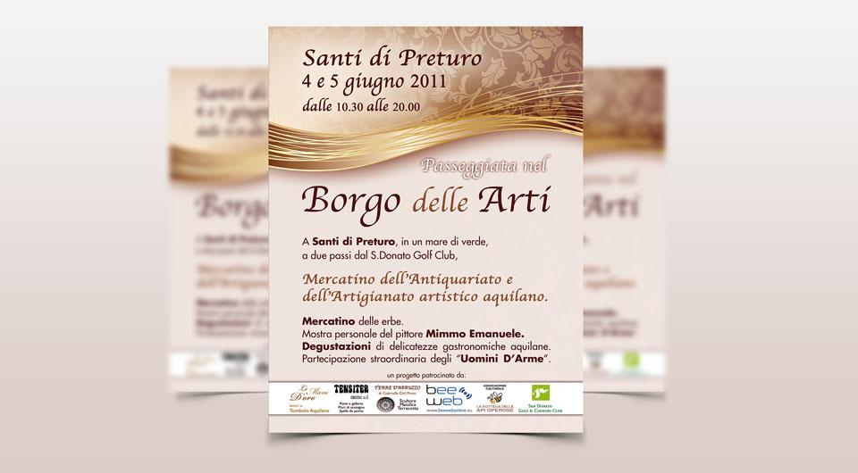Grafica e Stampa Locandine e Volantini Pubblicitari a L'Aquila