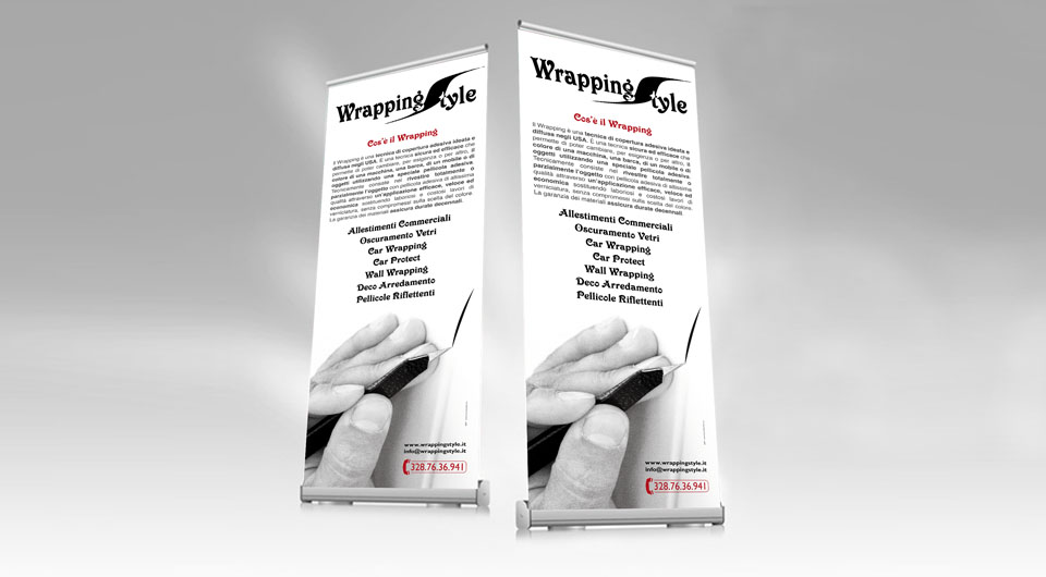 Wrapping Style - Roll-Up