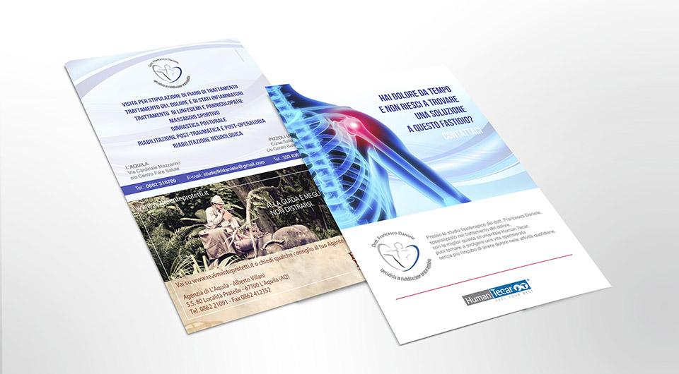 Assicurazione / Studio Fisioterapico - Flyer Pubblicitario