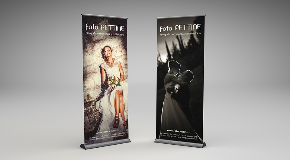Fotopettine - Roll-Up