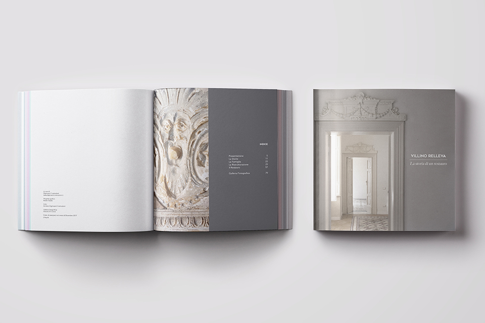 Coffee Table Book Costruzioni Editoria a L'Aquila Dogma23