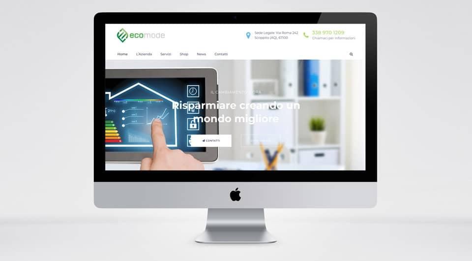 E-Commerce L'Aquila - Eco Mode