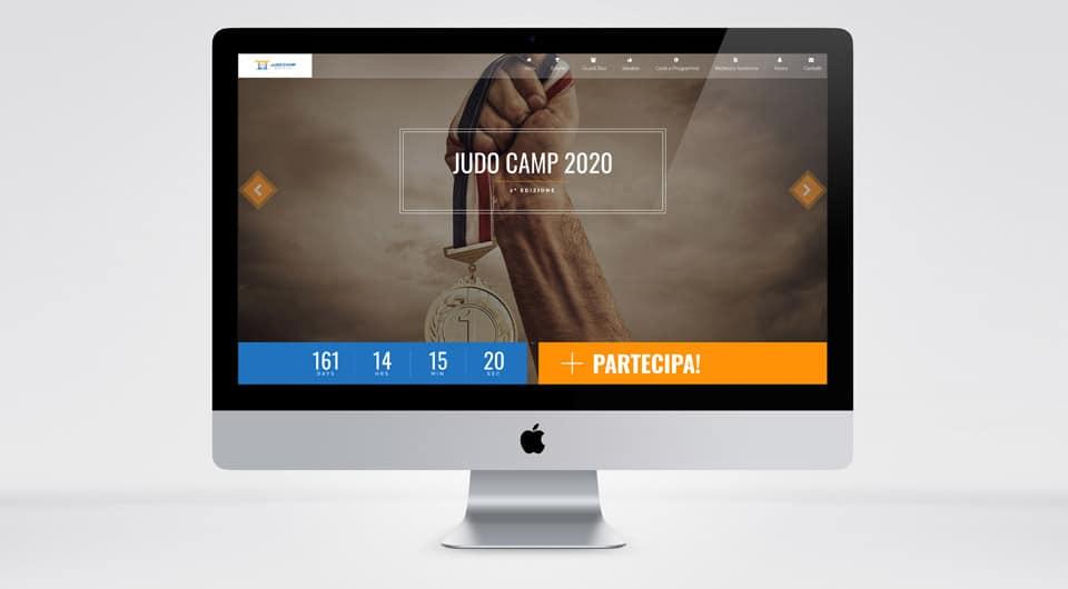 Realizzazione Siti Web L'Aquila - Judo Camp