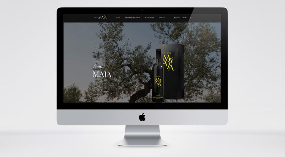 Siti Web L'Aquila - Tenuta Maja