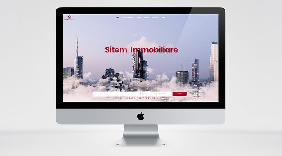 Sitem Immobiliare creazione Siti Web L'Aquila